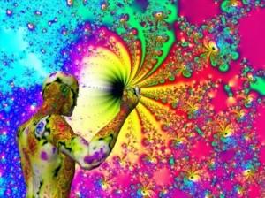 Salvia Art - Deep inside the Salvia hole