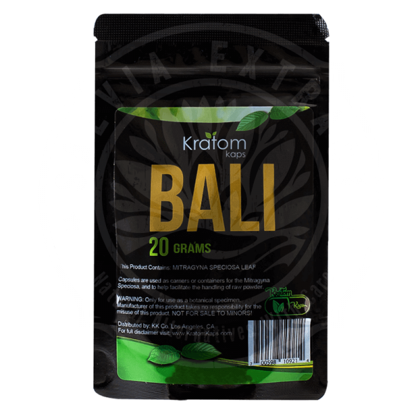 Kratom Kaps Bali for sale
