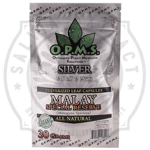 OPMS Kratom Silver Malay Special Reserve for sale