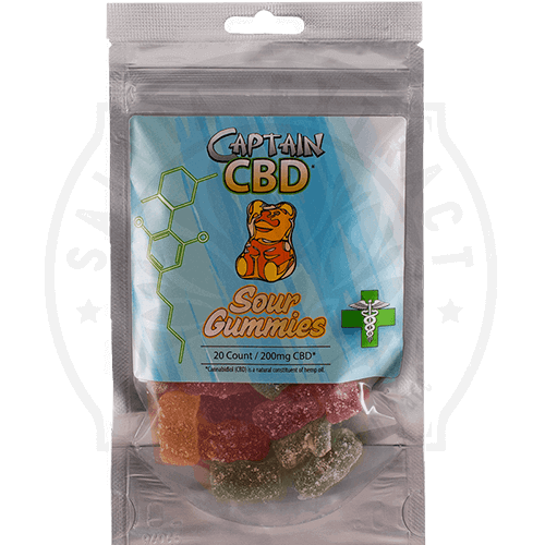 Captain CBD Sour Bears for sale