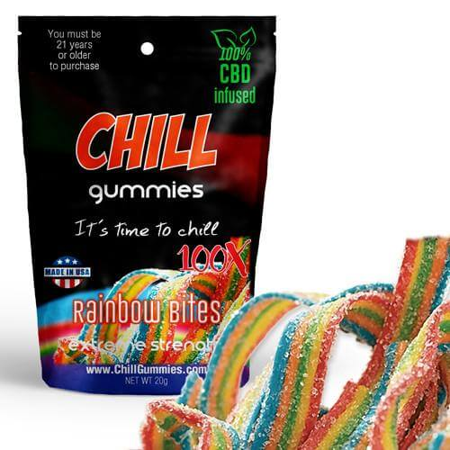 CBD Chill Rainbow Bites For Sale