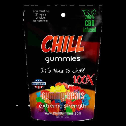 Diamond Gummy Bears 400mg CBD