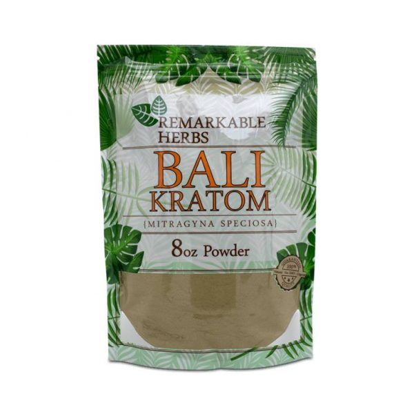 Remarkable Herbs Bali Kratom 8oz for sale