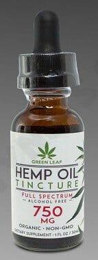 Green Leaf Hemp Oil 750MG for sale